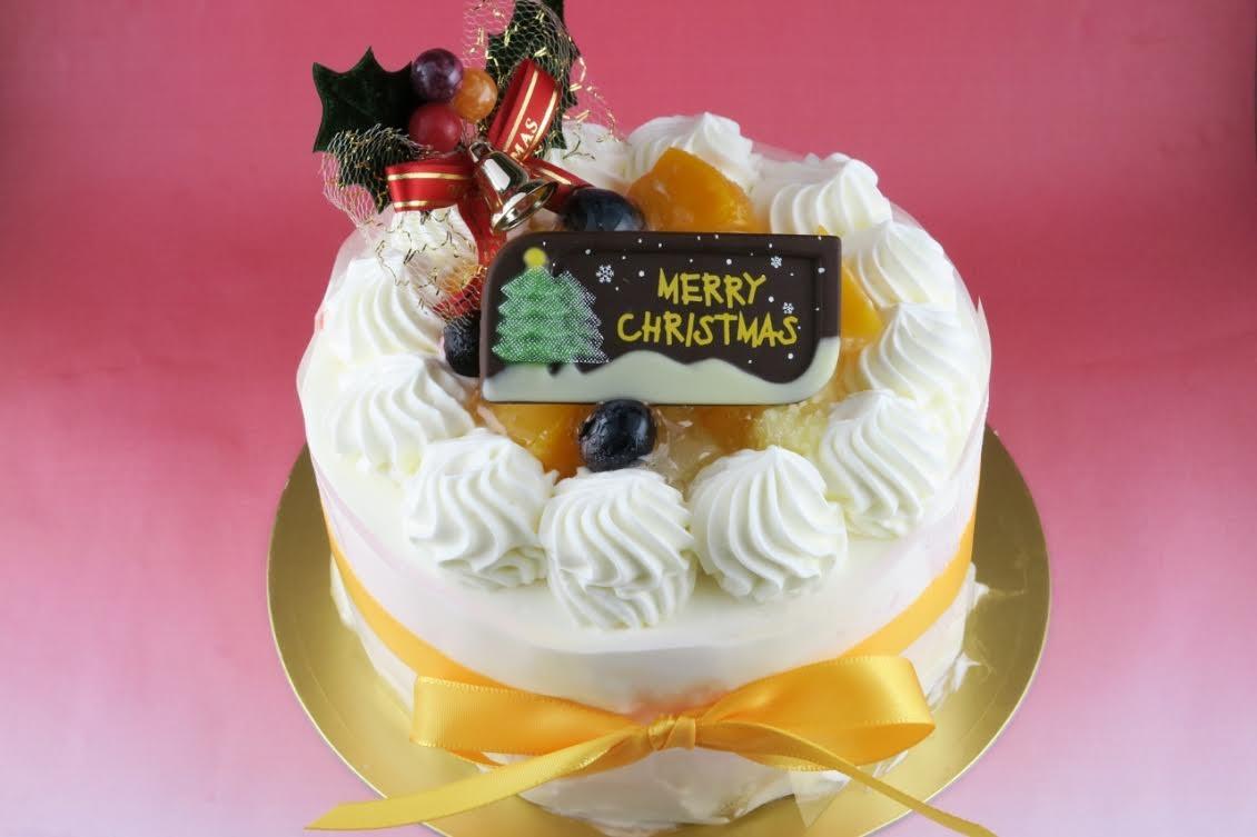 【クリスマスケーキ2016】アップルチーズ 直径12センチ