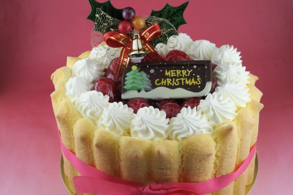 【クリスマスケーキ2016】シャルロットフレーズ 直径13cm