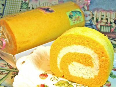 たまごロール 【うしゃぎさんのロールケーキ】