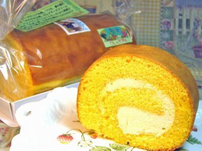 レアチーズロール 【レアチーズのロールケーキ】の画像1枚目