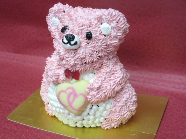 立体くまちゃんケーキ 高さ11cmの画像7枚目