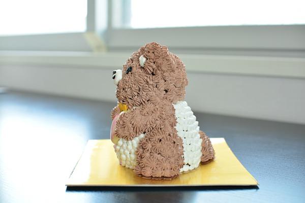 立体くまちゃんケーキ 高さ11cmの画像2枚目