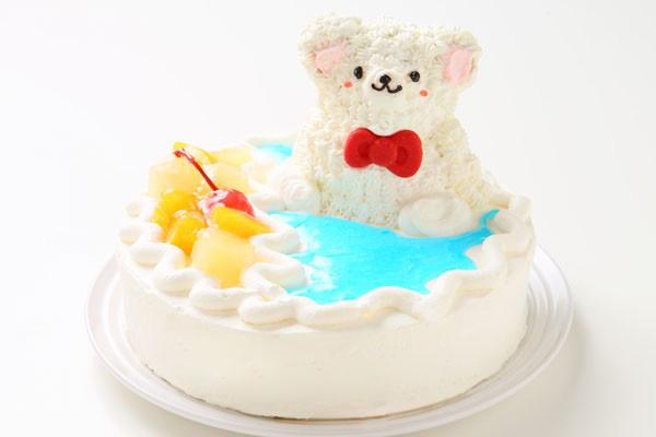 しろくまアイスケーキ