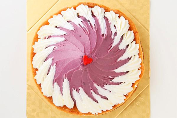 紫芋のタルト 5号 15cmの画像2枚目