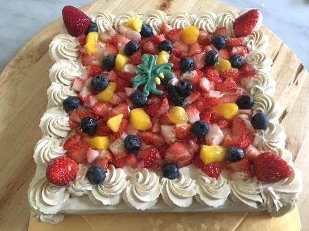 グルテンフリーのフルーツケーキ 7号