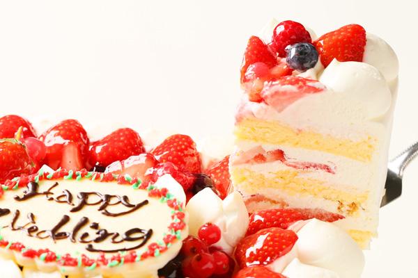 パーティ用ケーキ スクエア型 30×30×10cmの画像4枚目