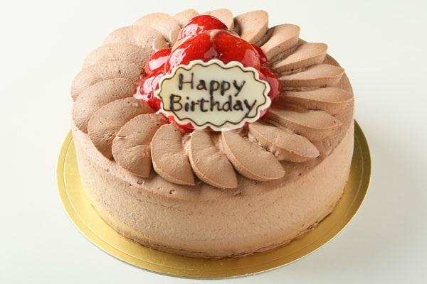 【目玉商品】みんな大好きチョコ生クリーム苺デコレーション4号サイズ(2名?3名様)【バースディ】【バースデーケーキ誕生日ケーキデコ】【母の日プレゼント】【子供の日】