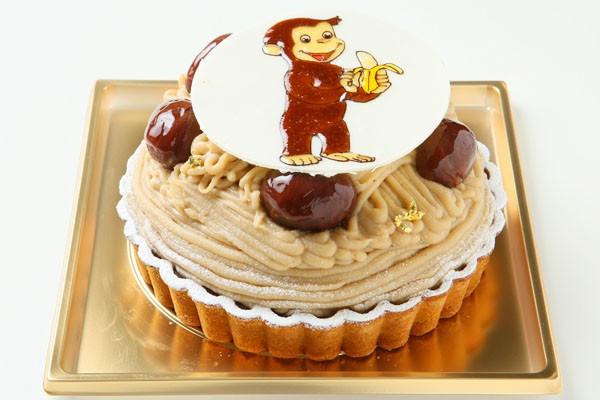 モンブラン イラストケーキ 4号の画像5枚目