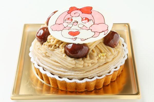 モンブラン イラストケーキ 4号の画像2枚目
