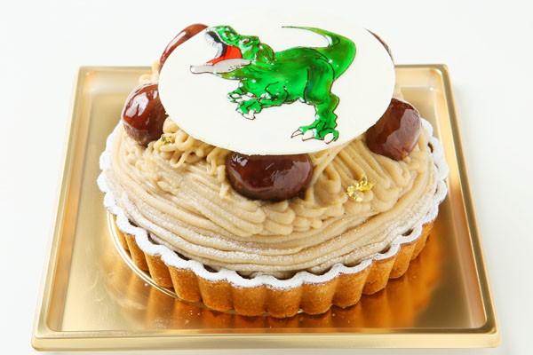 モンブラン イラストケーキ 4号の画像3枚目