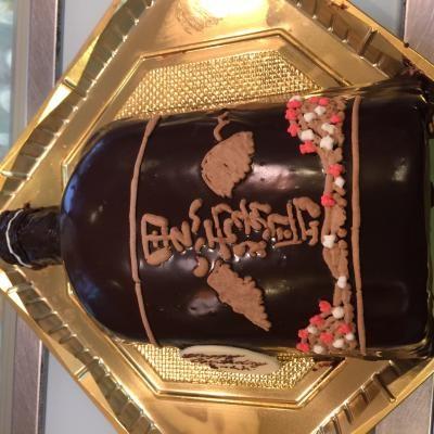 【2016年12月20日~26日まで配送不可】特注ケーキ5号【誕生日 デコ ケーキ バースデー】の画像2枚目
