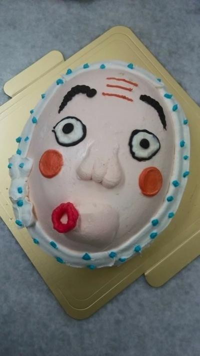 【2016年12月20日~26日まで配送不可】特注ケーキ5号【誕生日 デコ ケーキ バースデー】の画像5枚目