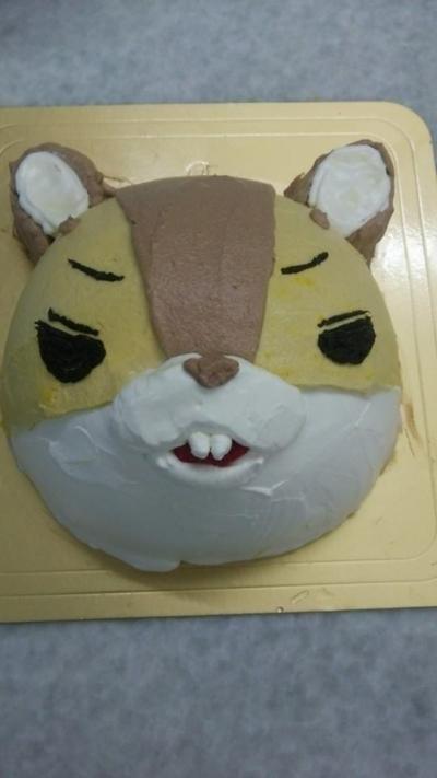 立体キャラクターデコレーションケーキ(T)4号 12cmの画像2枚目