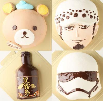 【2016年12月24日配送不可】キャラクターデコレーションケーキ6号