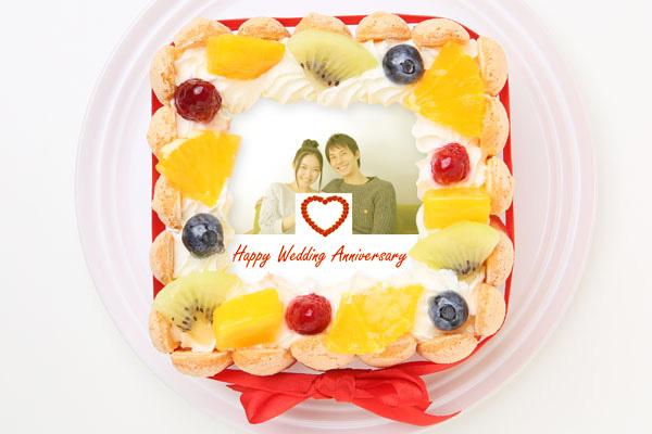 スペシャルフォトケーキ 15×15cmの画像1枚目