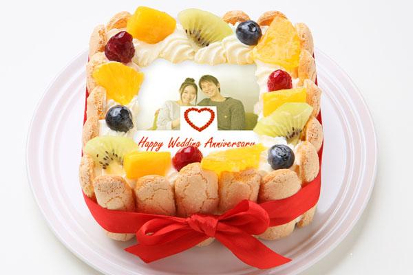 スペシャルフォトケーキ 15×15cmの画像2枚目