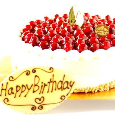 最高級洋菓子 シュス木苺レアチーズケーキ26cmの画像1枚目