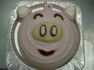 通販お急ぎ便!1日2台限定 6号サイズ見た目もかわいい、ドーム型立体ケーキ【誕生日 デコ ケーキ バースデー】の画像7枚目