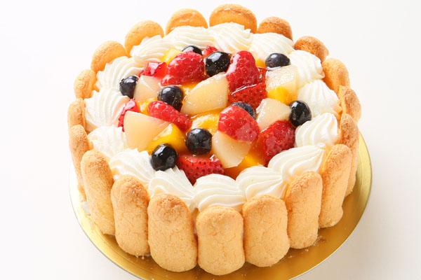 ファーストバースデーフルーツケーキ ヨーグルト 3号 9cmの画像3枚目