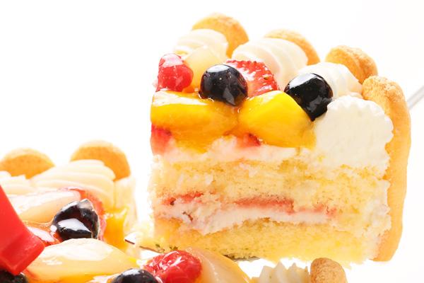 ファーストバースデーフルーツケーキ ヨーグルト 3号 9cmの画像4枚目