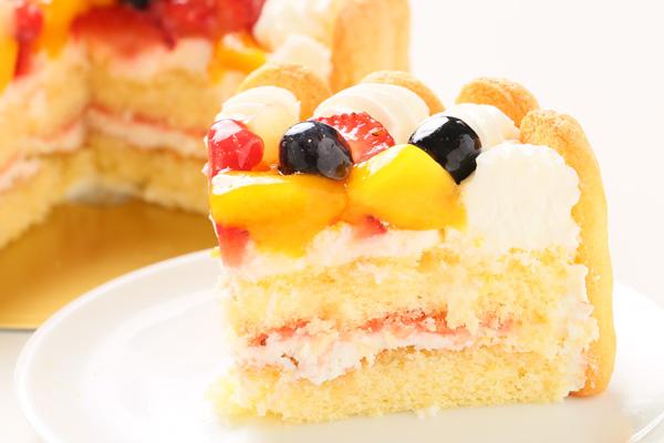 ファーストバースデーフルーツケーキ ヨーグルト 3号 9cmの画像6枚目