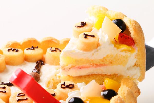 乳幼児用ヨーグルト時計ケーキ セミオーダー 4号 12cmの画像3枚目