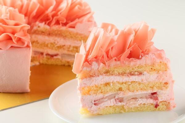 糖質制限!レアシュガーのフラワーショートケーキ5号の画像5枚目
