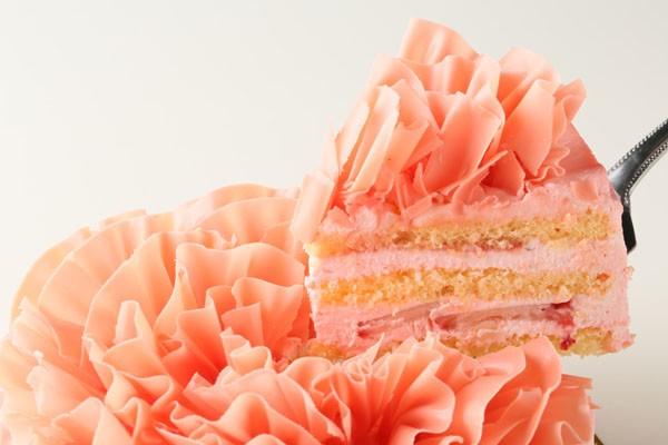 糖質制限!レアシュガーのフラワーショートケーキ5号の画像3枚目