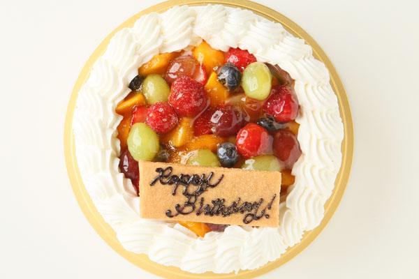 生クリームフルーツデコレーションケーキ 4号 12cmの画像2枚目
