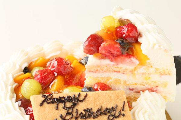 生クリームフルーツデコレーションケーキ 4号 12cmの画像3枚目