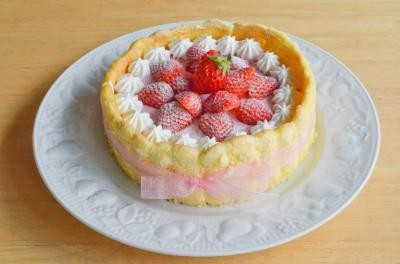 シャルロット6号【バースデー 誕生日 デコ バースデーケーキ】の画像1枚目
