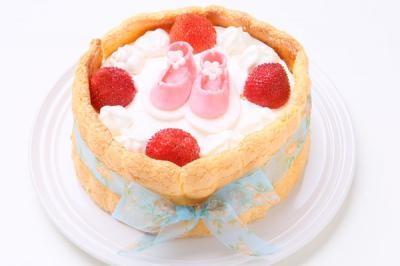 乙女の祈り6号【バースデー 誕生日 デコ バースデーケーキ】の画像1枚目