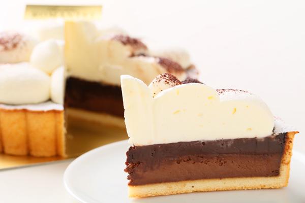 生チョコタルト フォトケーキ 5号 15cmの画像5枚目