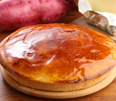 とりいさん家の芋チーズタルト