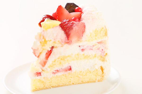 希少糖(レアシュガー)を使ったフルーツデコレーションケーキ 5号 15cmの画像4枚目
