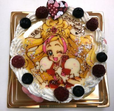 イラスト1体のみ オーダーメイド・キャラクター・デコレーションケーキ 4号 12cmの画像6枚目
