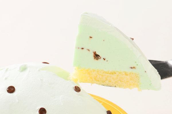チョコミントのアイスケーキ 4号 12cmの画像3枚目