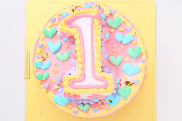 立体ナンバーケーキ 5号 15cmの画像1枚目