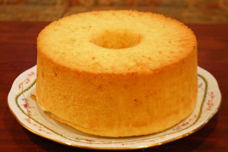 フルーツを使った無添加 手作りシフォンケーキ [北海道産てんさい糖使用]【オレンジ 香川産】