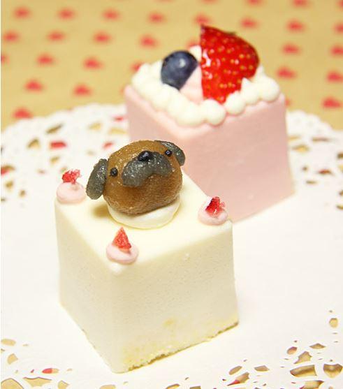 ピュアなレアチーズケーキ☆ハッピーキャレ 12×12cmの画像2枚目