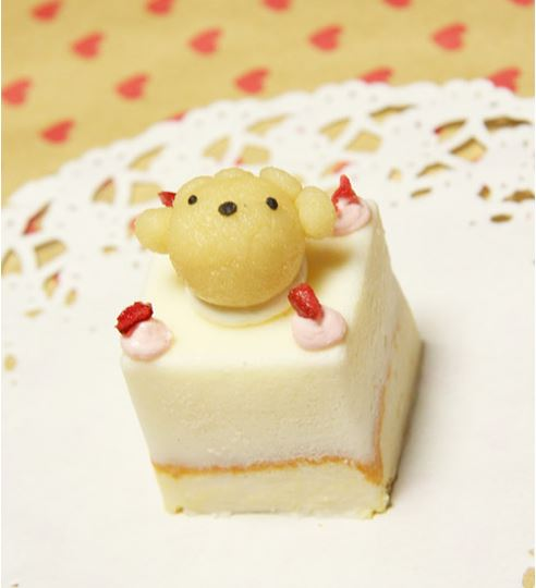 ピュアなレアチーズケーキ☆ハッピーキャレ 12×12cmの画像3枚目