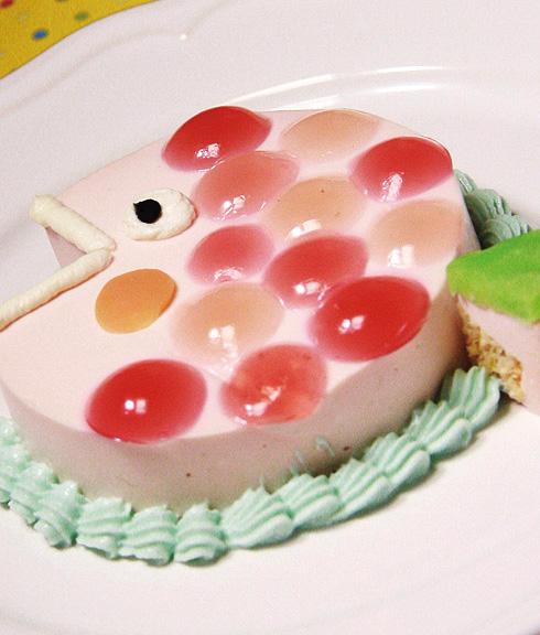 お肉のケーキ おめでたい☆ハッピーめで鯛 11cm