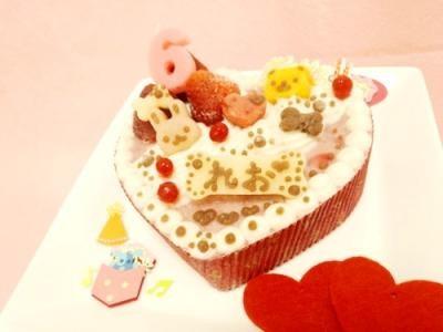 ◆ハートのプリティーprincess【馬肉】◆【犬用バースデーケーキ 犬用ケーキ 犬用おやつ ペット用バースデーケーキ ペット用ケーキ ペット用おやつ 犬用 ペット用 ケーキ おやつ】の画像1枚目