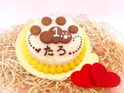 ◆ぷっくり肉球ケーキ◆ ペット用【ペット用おやつ 犬用ごはん ペット用ごはん 犬用 ペット用 ケーキ ごはん おやつ】の画像3枚目