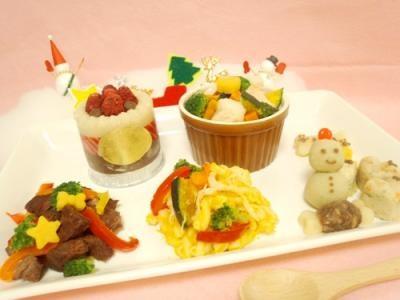 Premium Xmas にゃんにゃんset 【猫用クリスマスケーキ 猫用ケーキ 猫用おやつ ペット用クリスマスケーキ ペット用ケーキ ペット用おやつ クリスマス】の画像1枚目