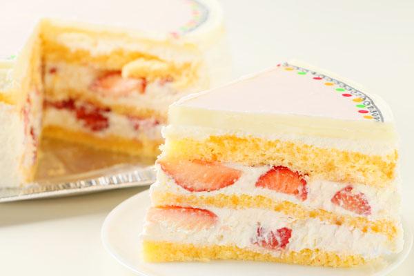 冷蔵配送の写真ケーキ 5号の画像5枚目