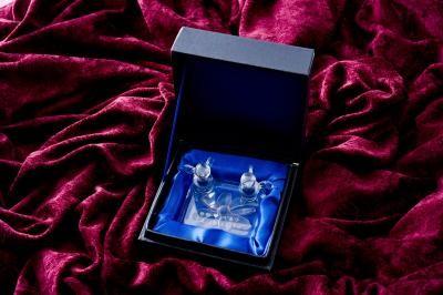 【ポイント10倍】リングピロー(スクエアシリーズ)【誕生日 贈り物 プレゼント ガラス ピングピロー】の画像2枚目