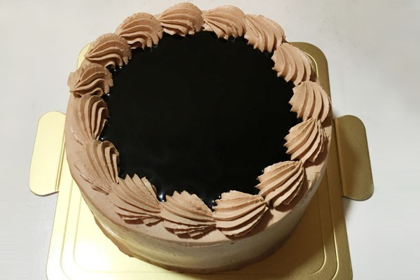 チョコクリームケーキ 5号 15cm