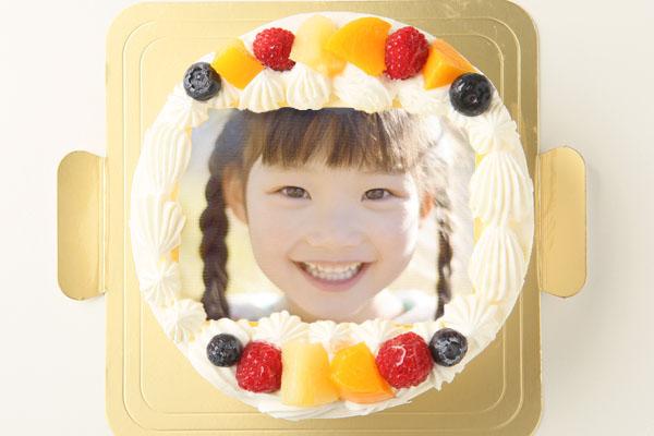 写真イラストケーキ 4号