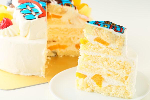 立体生クリームデコレーションケーキ 5号 15cmの画像7枚目